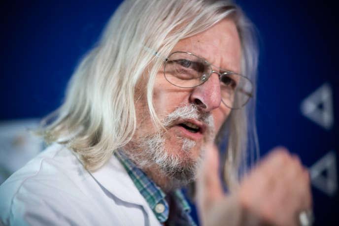 Le professeur Didier Raoult, le 3 juin à Marseille.