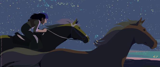 Le Cristal du long-métrage,prix le plus prestigieux du Festival d'Annecy, a été attribué à «Calamity, une enfance de Martha Jane Cannary», du Français Rémi Chayé.