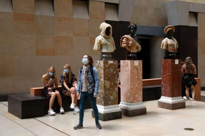 Au musée d'Orsay à Paris, le 23 juin.