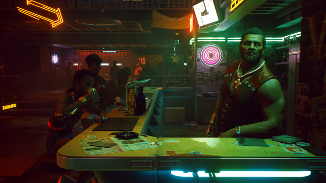 Pepe, le patron du bar, a une dette avec un fixeur. C'est en voulant lui rendre un service que V va se retrouver embarqué dans l'aventure de«Cyberpunk 2077».