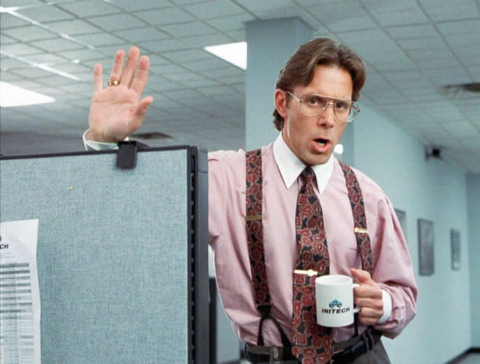 Gary Cole, dans le film « Office Space » (1999), de Mike Judge.