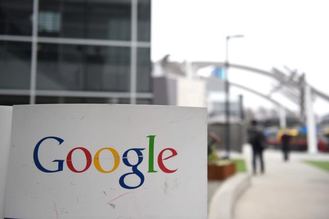 Au siège de Google, en Californie, en 2015.