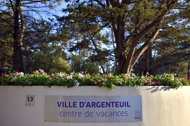 Au centre de vacances de la ville d'Argenteuil en juillet 2016.