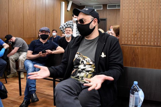 Le cinéaste et metteur en scène russe Kirill Serebrennikov, vendredi 26 juin, à Moscou.