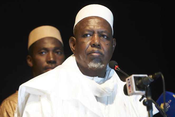 L'imam Mahmoud Dicko à Bamako, en septembre 2019.