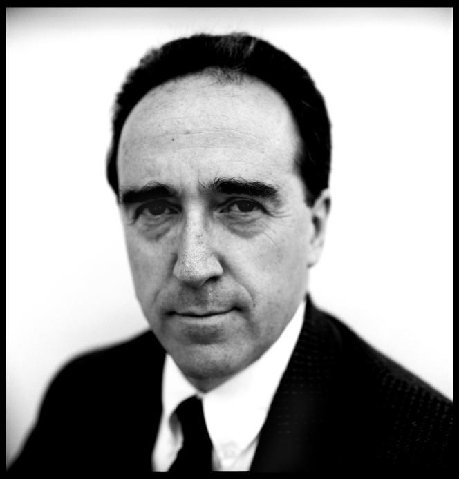 Le philosophe britanique David Hugh Mellor, en 1990, à Cambridge.