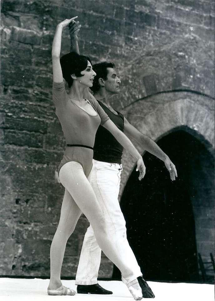 Laura Proença et Maurice Béjart, en 1966, dans «Erotica».