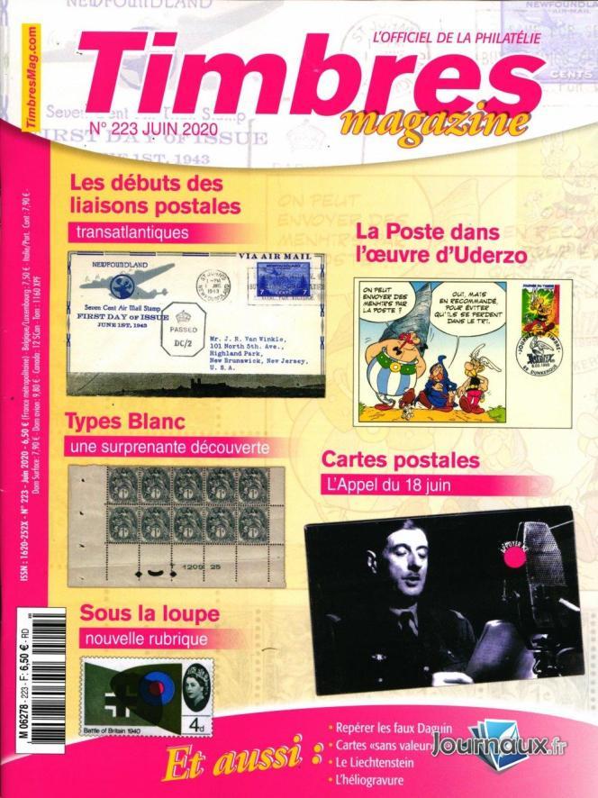 « Timbres magazine », 100 pages, en vente en kiosques, 6,50 euros.