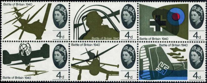 25e anniversaire de la bataille d'Angleterre.