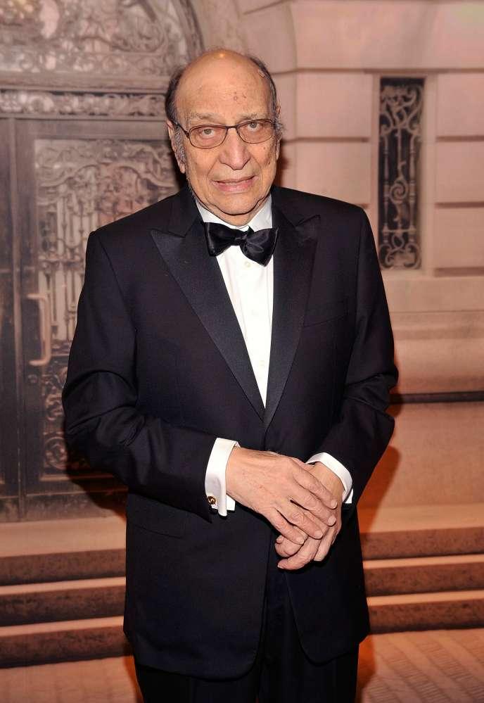 Milton Glaser à New York, en 2010.
