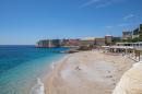 BEIJING, May 22, 2020 Photo taken on May 21, 2020 shows a beach in the COVID-19 pandemic in Dubrovnik, Croatia. (Grgo Jelavic/Pixsell via Xinhua) (Credit Image: © Grgo Jelavic/Xinhua via ZUMA Wire)