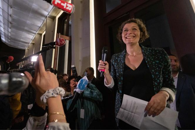 Discours de victoire de Jeanne Barseghian, candidate EELV à la mairie de Strasbourg, le 28 juin 2020.