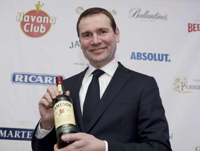 Alexandre Ricard, président-directeur général du groupe Pernod Ricard, à Paris, en février2019.