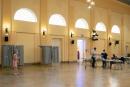2° tour des élections municipales - strasbourg - coronavirus - Bureau de vote de la salle de la bourse.