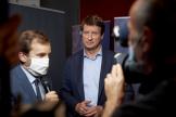 Yannick Jadot, dans les locaux de France Télévisions, à Paris, le 28 juin.