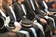 Prestation de serment des élèves de l'Ecole nationale de la magistrature, le 5 février 2016 au Palais de Justice de Bordeaux.