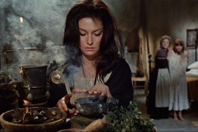 Fabienne Dali dans«Opération peur», réalisé par Mario Bava en 1966.