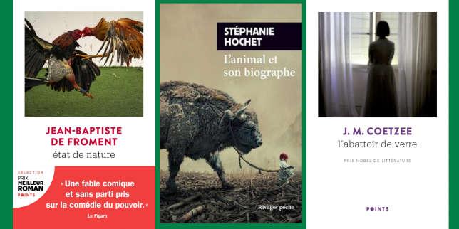 Jean-Baptiste de Froment, Stéphanie Hochet, J.M. Coetzee: la chronique «poches» de Mathias Enard