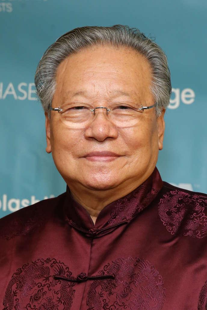 Le photographe Li Zhensheng, le 27 octobre 2013, à New York.