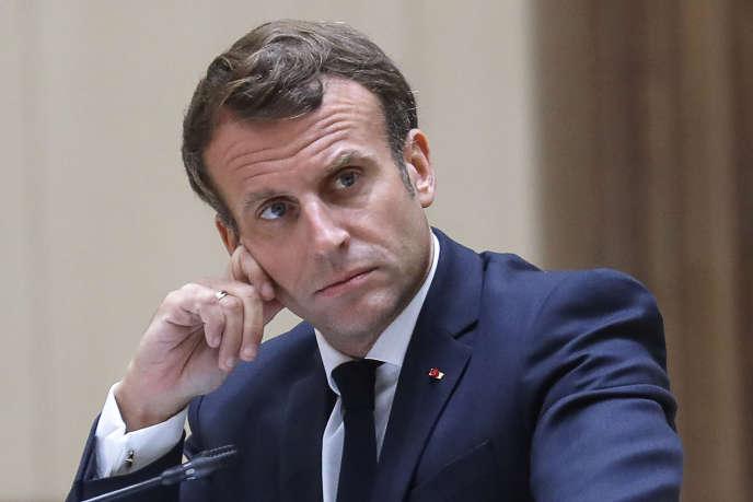Emmanuel Macron, le 30 juin 2020.