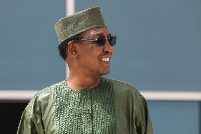 Le président tchadien Idriss Déby Itno à Nouakchott, lors du sommet du G5 Shael, mardi 30 juin 2020.
