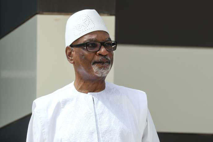 Ibrahim Boubacar Keïta, à Nouakchott, en Mauritanie, le 30 juin.