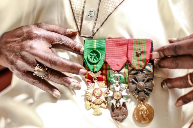 Issa Cissé, tirailleur sénégalais mort en 2018 à l'âge de 96 ans, avait participé au Débarquement de Provence, en 1944, et reçu plusieurs médailles militaires.