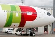 Un avion de la compagnie TAP Air Portugal Airlines à Colomiers, près de Toulouse, le 6 novembre 2018.