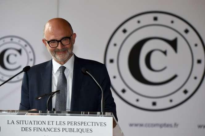 Pierre Moscovici, premier président de la Cour des comptes, à Paris, le 30juin2020.