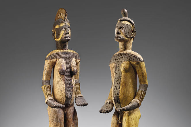 Ces statuettes igbo ont été vendues 212 500 euros à un acheteur sur Internet.