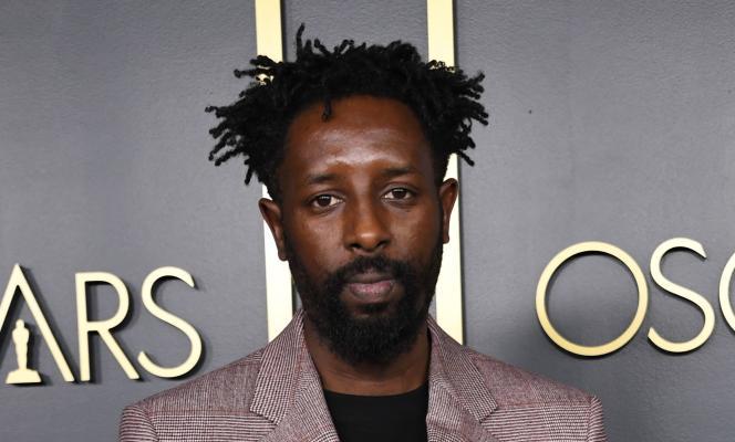Le réalisateur français du film« Les Misérables»,Ladj Ly, lors de son arrivée à la cérémonie des Oscars, le 27 janvier 2020.