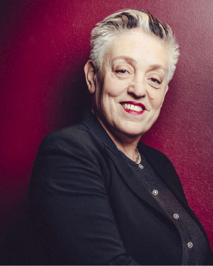 Ruth Mackenzie,en janvier 2017, au Théâtre du Châtelet.