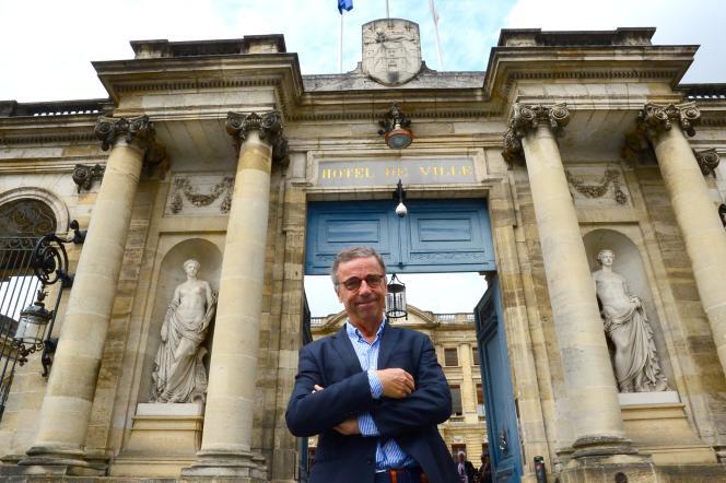Le nouveau maire de Bordeaux, Pierre Hurmic, le 1er juillet.