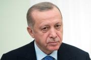 Le président de la Turquie Recep Tayyip Erdogan à Moscou le 5 mars 2020.