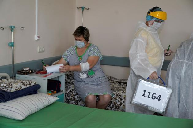 Dans un hôpital à Tver, le 1er juillet.