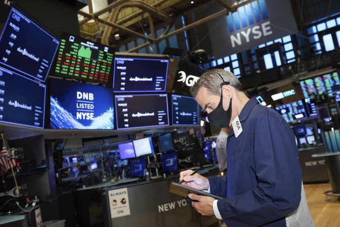 A Wall Street à New York, le 1er juillet.
