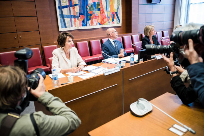 Audition de Marisol Touraine, ancienne ministre des affaires sociales et de la santé, par la mission d'information sur l'impact, la gestion et les conséquences de l'épidemie de Covid-19, à l'Assemblée nationale, le 1erjuillet.