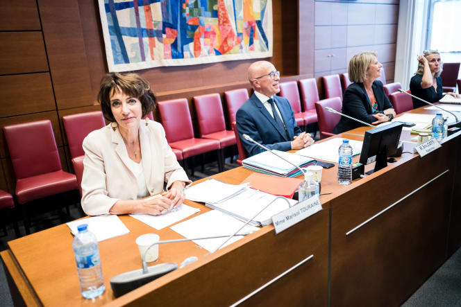 L'ancienne ministre des affaires sociales et de la santé,Marisol Touraine, est auditionnée, à l'Assemblée nationale, le 1er juillet.