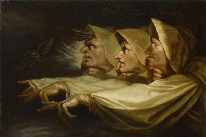 «Les Trois Sorcières» (1783),de Johann Heinrich Füssli.