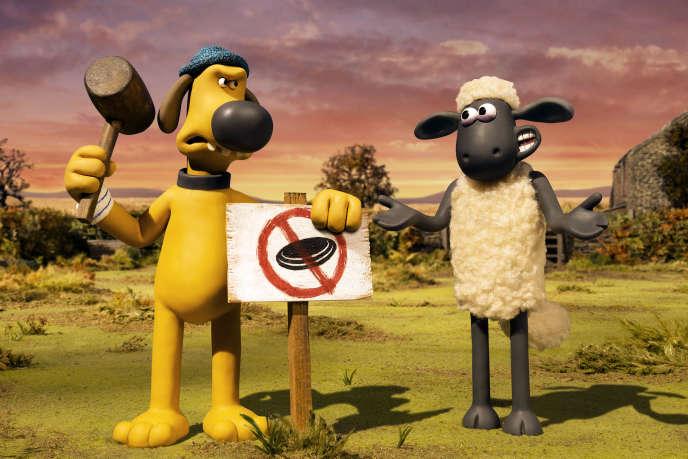 «Shaun le Mouton. La ferme contre-attaque» (2019), de Will Becher et Richard Phelan.