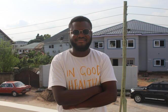 Gregory Rockson, le cofondateur de mPharma, à Accra.