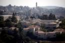 A general view shows part of the Jewish settlement of Beit El in the forground near Ramallah in the Israeli-occupied West Bank July 1, 2020. REUTERS/Amir Cohen