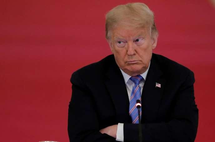 Donald Trump, à la Maison Blanche, le 26 juin.