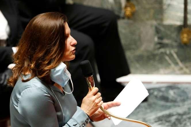 La ministre des sports, Roxana Maracineanu, à l'Assemblée nationale, à Paris, le 23 juin 2020.