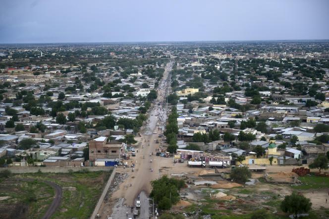 La capitale tchadienne N'Djamena, en juillet 2016.