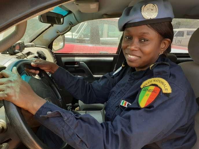 La Sénégalaise Fatou Bintou Dahaba est casque bleu à Tombouctou, au Mali, au sein de la Minusma.