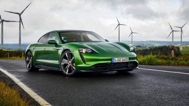 Taycan de Porsche.