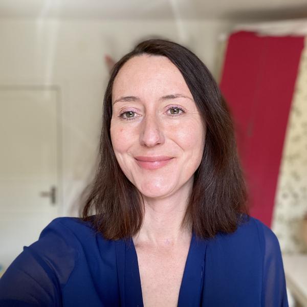 Audrey Leprince, productrice de jeux vidéo et fondatrice de l'assocation Women In Games France.