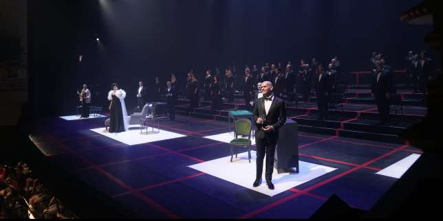 A Madrid, une « Traviata » post-confinement
