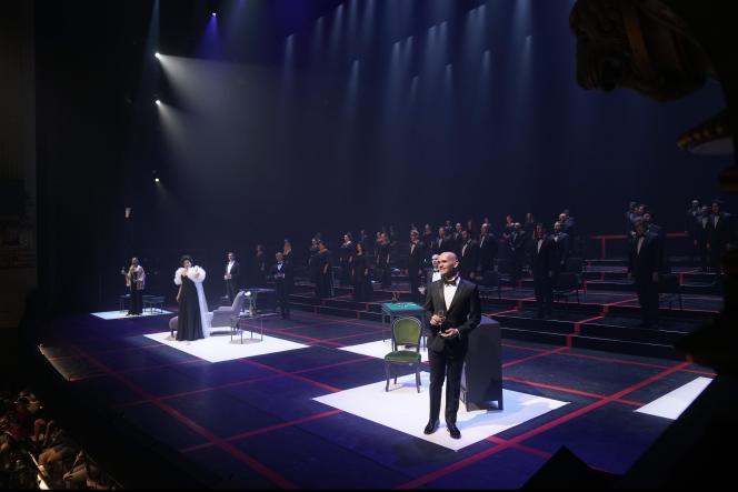 Représentation de« La Traviata», le 1er juillet, au Teatro Real de Madrid.